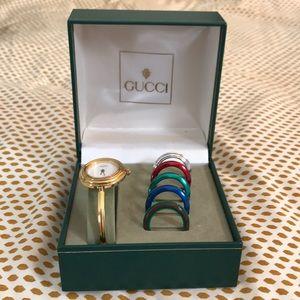 Authentic Vintage Gucci Interchangeable Watch
